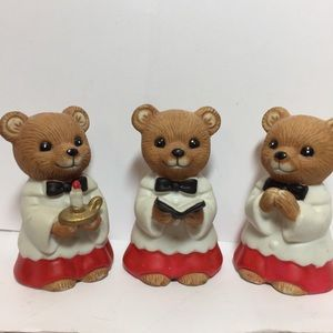 CHOIR BEARS HOME INTERIORS. Vintage